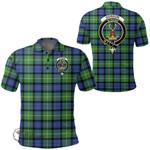 1stScotland Clothing - Gordon Old Ancient Clan Tartan Crest Polo Shirt A7