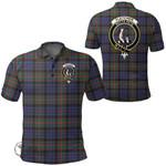1stScotland Clothing - Fletcher Of Dunans Clan Tartan Crest Polo Shirt A7
