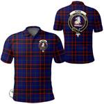 1stScotland Clothing - Home Modern Clan Tartan Crest Polo Shirt A7