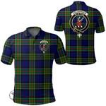 1stScotland Clothing - Colquhoun Modern Clan Tartan Crest Polo Shirt A7