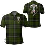 1stScotland Clothing - Maclean Hunting Ancient Clan Tartan Crest Polo Shirt A7