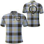 1stScotland Clothing - Bell Of The Borders Clan Tartan Crest Polo Shirt A7