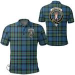 1stScotland Clothing - Robertson Hunting Ancient Clan Tartan Crest Polo Shirt A7