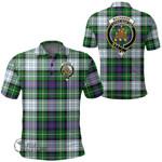 1stScotland Clothing - Mackenzie Dress Modern Clan Tartan Crest Polo Shirt A7