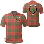 1stScotland Clothing - Grant Ancient Clan Tartan Crest Polo Shirt A7