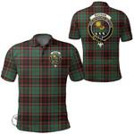 1stScotland Clothing - Buchan Ancient Clan Tartan Crest Polo Shirt A7