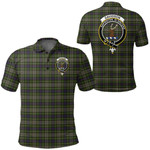 1stScotland Clothing - Davidson Tulloch Dress Clan Tartan Crest Polo Shirt A7
