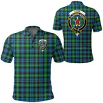 1stScotland Clothing - Lyon Clan Clan Tartan Crest Polo Shirt A7