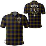 1stScotland Clothing - Maclellan Modern Clan Tartan Crest Polo Shirt A7