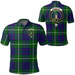 1stScotland Clothing - Macintyre Hunting Modern Clan Tartan Crest Polo Shirt A7