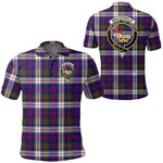 1stScotland Clothing - Macdonald Dress Modern Clan Tartan Crest Polo Shirt A7