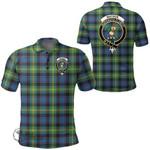 1stScotland Clothing - Watson Ancient Clan Tartan Crest Polo Shirt A7