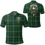 1stScotland Clothing - Cranstoun Clan Tartan Crest Polo Shirt A7