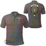 1stScotland Clothing - Macintyre Ancient Clan Tartan Crest Polo Shirt A7