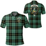 1stScotland Clothing - Wallace Hunting Ancient Clan Tartan Crest Polo Shirt A7