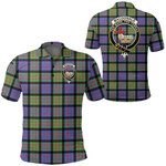 1stScotland Clothing - Macdonald Ancient Clan Tartan Crest Polo Shirt A7