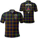 1stScotland Clothing - Clelland Modern Clan Tartan Crest Polo Shirt A7