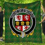 1stScotland Premium Quilt - House Of O'Murphy (Muskerry) Irish Family Crest Quilt - Irish National Tartan A7