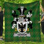 1stScotland Premium Quilt - Gernon Or Garland Irish Family Crest Quilt - Irish National Tartan A7