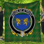 1stScotland Premium Quilt - House Of O'Trehy (Troy) Irish Family Crest Quilt - Irish National Tartan A7