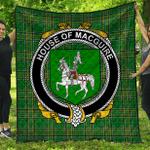 1stScotland Premium Quilt - House Of Macguire Irish Family Crest Quilt - Irish National Tartan A7