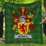 1stScotland Premium Quilt - Mchale Or Machale Irish Family Crest Quilt - Irish National Tartan A7