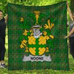 1stScotland Premium Quilt - Noone Or O'Noone Irish Family Crest Quilt - Irish National Tartan A7