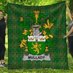 1stScotland Premium Quilt - Mullady Or O'Mullady Irish Family Crest Quilt - Irish National Tartan A7