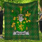 1stScotland Premium Quilt - Mulcahy Or O'Mulcahy Irish Family Crest Quilt - Irish National Tartan A7