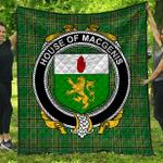1stScotland Premium Quilt - House Of Macgenis Irish Family Crest Quilt - Irish National Tartan A7
