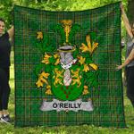 1stScotland Premium Quilt - Reilly Or O'Reilly Irish Family Crest Quilt - Irish National Tartan A7