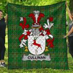1stScotland Premium Quilt - Cullinan Or O'Cullinane Irish Family Crest Quilt - Irish National Tartan A7
