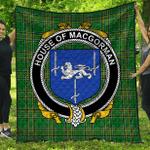 1stScotland Premium Quilt - House Of Macgorman Irish Family Crest Quilt - Irish National Tartan A7