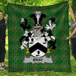 1stScotland Premium Quilt - Bray Or Mcbray Irish Family Crest Quilt - Irish National Tartan A7