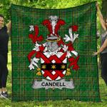 1stScotland Premium Quilt - Candell Irish Family Crest Quilt - Irish National Tartan A7