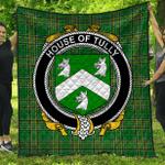 1stScotland Premium Quilt - House Of Tully (Macatilla)) Irish Family Crest Quilt - Irish National Tartan A7