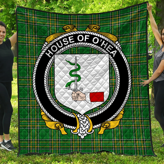 1stScotland Premium Quilt - House Of O'Hea Irish Family Crest Quilt - Irish National Tartan A7