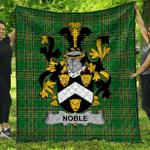 1stScotland Premium Quilt - Noble Irish Family Crest Quilt - Irish National Tartan A7