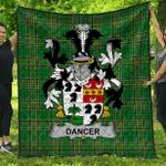 1stScotland Premium Quilt - Dancer Irish Family Crest Quilt - Irish National Tartan A7