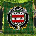 1stScotland Premium Quilt - House Of Nugent Irish Family Crest Quilt - Irish National Tartan A7