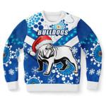 Bulldogs Sweatshirt Christmas Light K13 - 1st Iceland