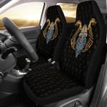 1stIceland Viking Car Seat Covers, Odin's Helmet Dragon Rune K5 - 1st Iceland