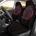 1stIceland Viking Car Seat Covers, Odin's Raven Runes Ha8 - 1st Iceland