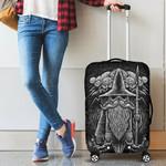 1stIceland Viking Luggage Cover, Odin Norse Mythology Fenrir A2 - 1st Iceland