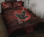 1stIceland Viking Quilt Bed Set - Raven Mjolnir Red Thunder TH0 - 1st Iceland