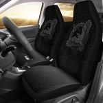 1stIceland Viking Car Seat Covers, Odin's Raven Futhark Norse Nn8 - 1st Iceland