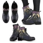 1stIceland Viking Leather Boots, Odin's Ravens Mjolnir Yggdrasil K5 - 1st Iceland
