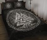 1stIceland Viking Quilt Bed Set, Yggdrasil Valknut K7 - 1st Iceland