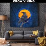 1stIceland Viking Tapestry , Raven Odin's Eye Futhark Norse A7 - 1st Iceland