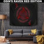 1stIceland Viking Tapestry, Horn Of Odin Ravens A7 - 1st Iceland